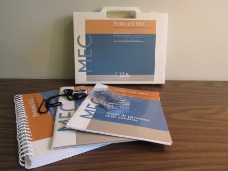 Protocole Montréal d'Évaluation de la Communication version française (MEC)
